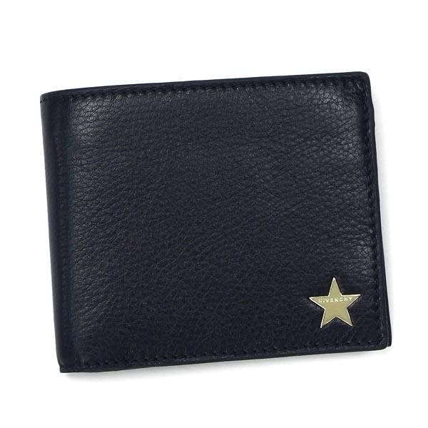 ジバンシィ GIVENCHY 二つ折り財布 小銭入 13M6107 BILLFOLD 4CC COIN BLACK BKRqAj4L53