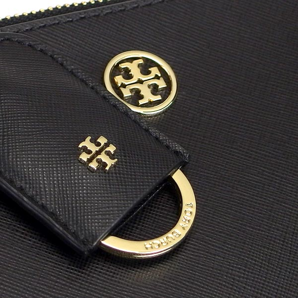 トリーバーチ TORY BURCH トートバッグ 11149806 ROBINSON MINI DOUBLE ZIP TOTE BLACK BK 送料無料4ALR3j5q