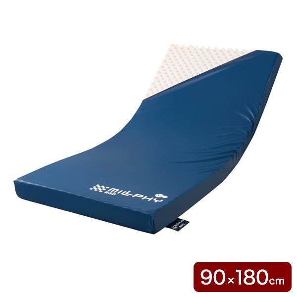 ケープ ミルフィ 900/SHORT マットレス 幅90×長180×厚10cm CR-365 介護 ベッド(代引不可)【送料無料】
