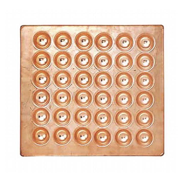 カンダ ?銅製たこ焼天板 感謝価格 36穴 067045 毎日がバーゲンセール