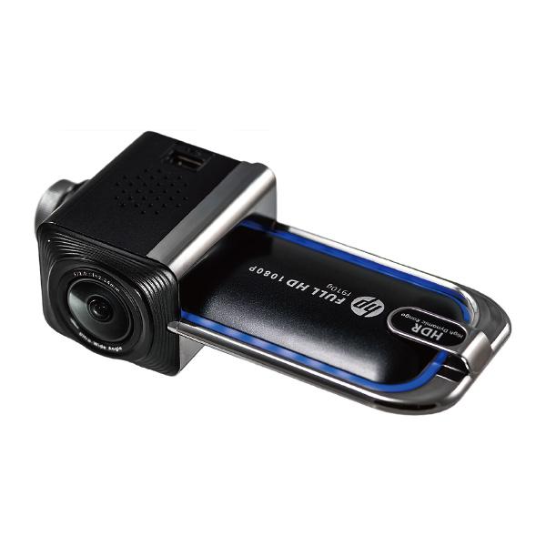 hpドライブレコーダー f910g フルHD 高画質 ワイド視野 Gセンサー ドライバーアシスト 広角【送料無料】