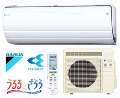 DAIKIN ダイキン ルームエアコン うるさら7 26畳用 8.0kW S80RTRXV-W-SET ホワイト 室外電源タイプ エアコン設置工事不可 代引き不可 送料無料 季節のご挨拶 母の日 通勤