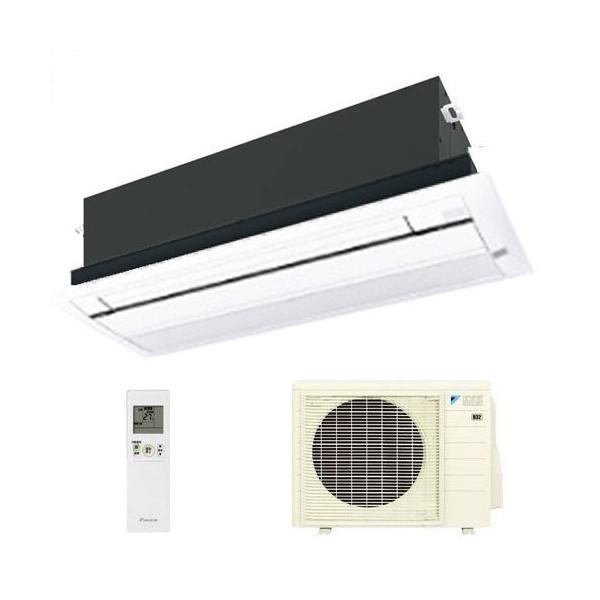 ダイキン ハウジングエアコン 天井カセット形シングルフロー 10畳程度 S28RCV ホワイトパネル BC40J-W 【業務用】(代引不可)【送料無料】