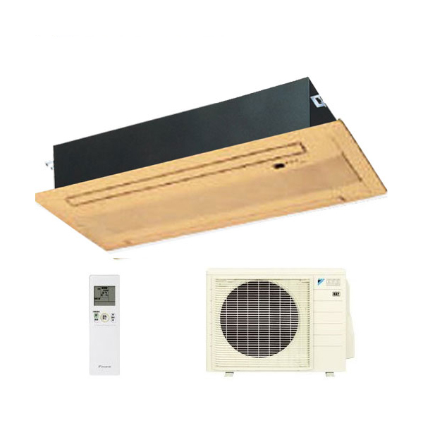 ダイキン ハウジングエアコン 天井埋込カセット形ダブルフロー 14畳程度 S40RGV ブラウンパネル BG50F-T 【業務用】(代引不可)【送料無料】