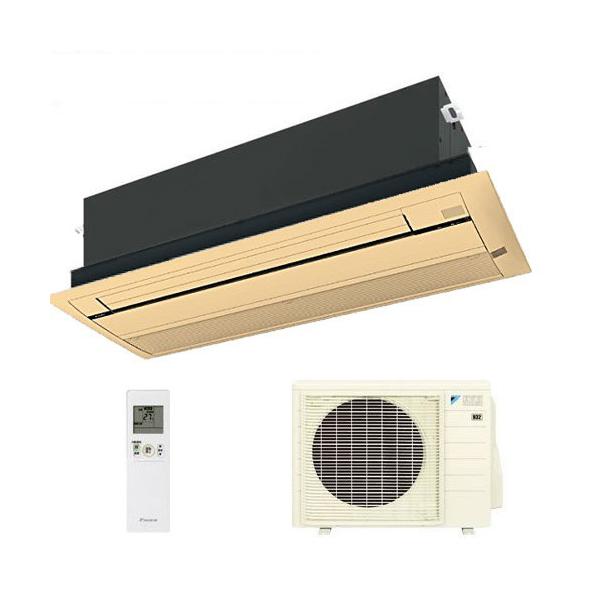 ダイキン ハウジングエアコン 天井カセット形シングルフロー 18畳程度 S56RCV 木目パネル BC40J-M 【業務用】(代引不可)【送料無料】