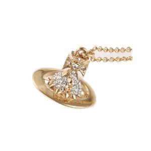 ヴィヴィアンウエストウッド Vivienne Westwood ネックレス LENA SMALL ORB ゴールド 専用BOX 紙袋付き 752567B/2 レディース【送料無料】