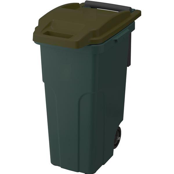 【4セット】リス ゴミ箱 コンテナスタイル2 CS2-45C2 カーキ【代引不可】