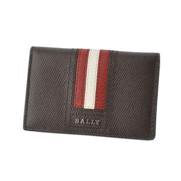 BALLY(バリー) TYKE.LT 21 6221815 バリーストライプ パスケース付 カードケース 名刺入れ【代引不可】