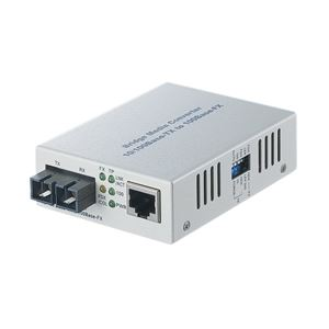 バッファロー 光メディアコンバータ 2芯マルチモード 100BASE-TX:100BASE-FX(SC)2km LTR2-TX-MFC2R