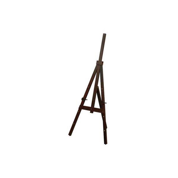ナカバヤシ 木製イーゼルMサイズ/ダーク木目 【木製イーゼル】