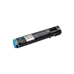 メーカー純正品 エプソン(EPSON) LPC3T21CV 環境推進トナー シアン Mサイズ 6200ページ