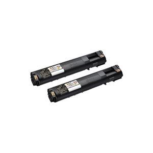 メーカー純正品 エプソン(EPSON) LPC3T21KPV 環境推進トナー ブラック Mサイズ 2本パック
