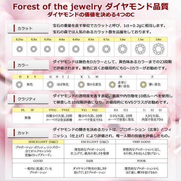 【鑑別書付】K18ピンクゴールド 天然ダイヤモンドリング ダイヤ0.50ct 9号 ハーフエタニティリング