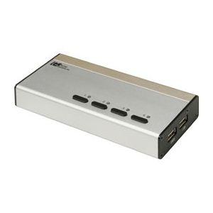ラトックシステム USB接続DVI/Audio対応(PC 4台用) REX-430UDA