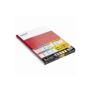 (まとめ買い)ナカバヤシ ロジカルノ-トセミB5 A罫5冊 ノ-B501A-5P 【×30セット】