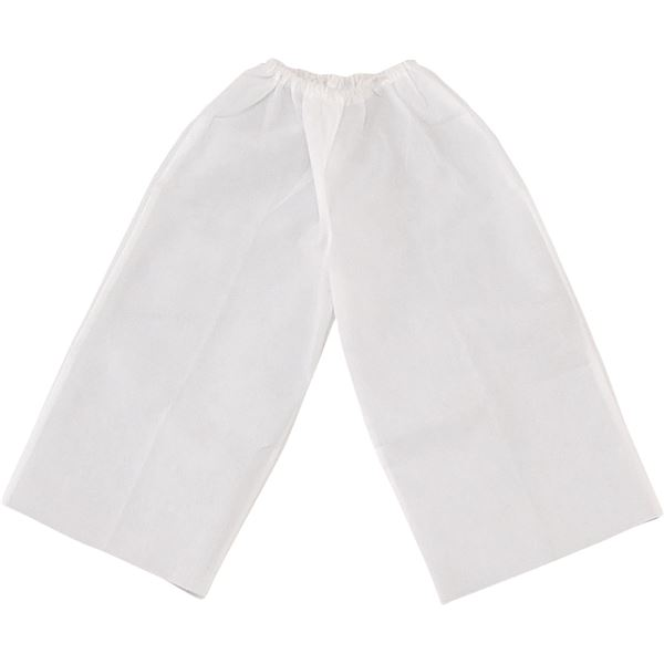 (まとめ)アーテック 衣装ベース J ズボン 白 【×30セット】