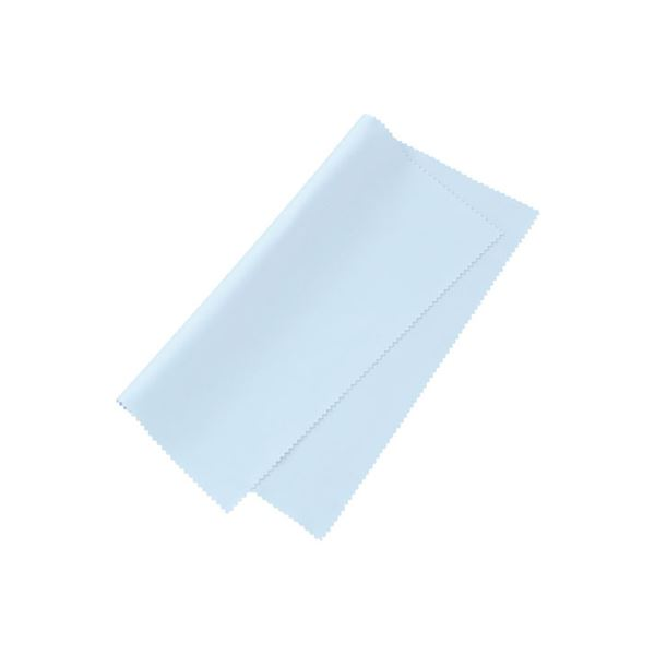オフィス用品 静電気対策 まとめ 通信販売 サンワサプライ ×10セット メーカー公式 ブルー CD-CC12BL マイクロファイバークリーニングクロス