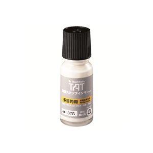 (業務用20セット) シャチハタ タートインキ 多目的 STG-1 小瓶 白 ×20セット