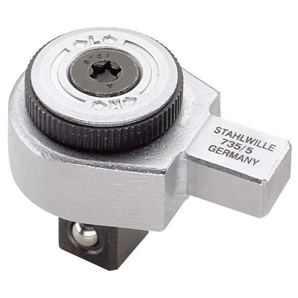STAHLWILLE(スタビレー) 735/5 トルクレンチ差替ヘッド(ラチェット) (58250005)