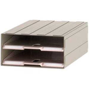 (業務用10セット) サカセ ビジネスカセッター A4-トレー2 A4/1列/2段 ×10セット