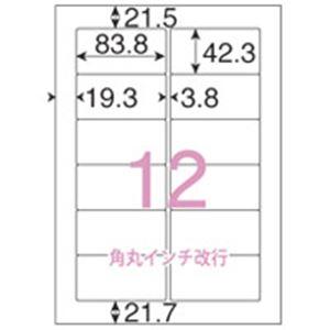 (業務用5セット) ジョインテックス OAラベルレーザ用SE 500枚 12面C A125J 【×5セット】