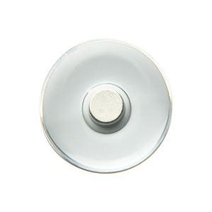 (業務用200セット) ソニック プッシュマグネットMG-793-T透明Φ30mm 5個 ×200セット