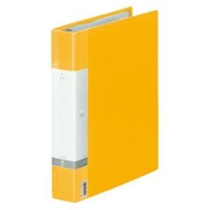 (業務用30セット) LIHITLAB クリヤーブック クリアブック リクエスト G3803-5 A4S 黄 ×30セット