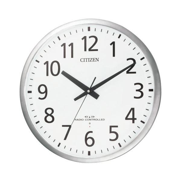 リズム時計 シチズン電波掛時計 8MY463-019