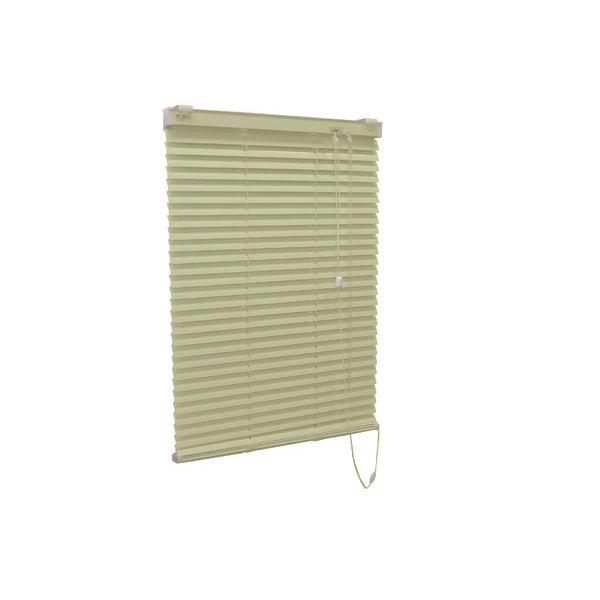 アルミ製 ブラインド 【178cm×210cm グリーン】 日本製 折れにくい 光量調節 熱効率向上 『ティオリオ』【代引不可】【送料無料】