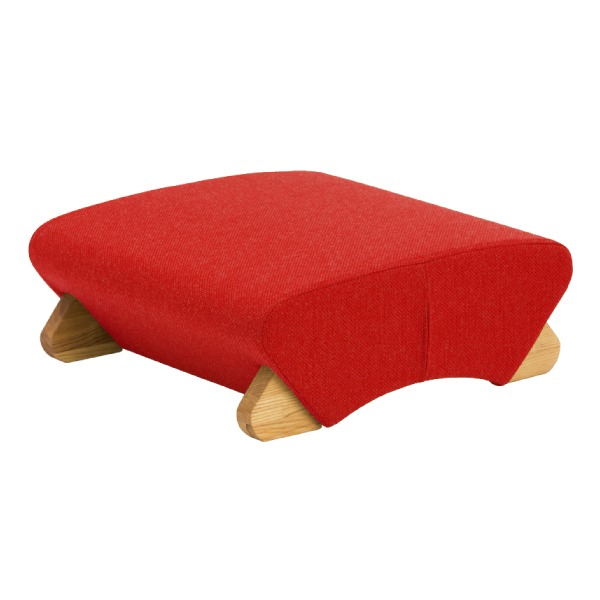 納得の機能 希望者のみラッピング無料 デザインフロアチェア 座椅子 デザイン座椅子 脚:クリア Mona.Dee 布:レッド WAS-F 激安卸販売新品 モナディー