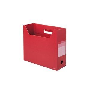 (業務用100セット) プラス ボックスファイル レギュラー FL-023BF BRR ×100セット