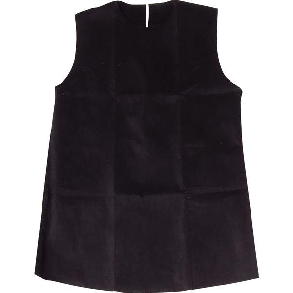 (まとめ)アーテック 衣装ベース S ワンピース 黒 【×30セット】