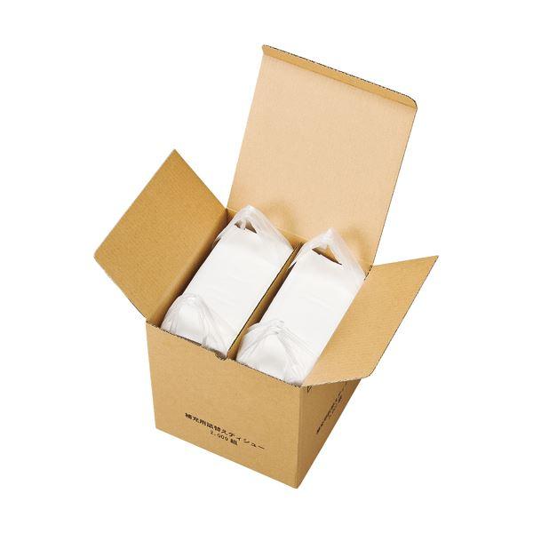 (まとめ) スバル紙販売 補充用詰替えティッシュ レギュラーサイズ 2000組 1パック 【×5セット】