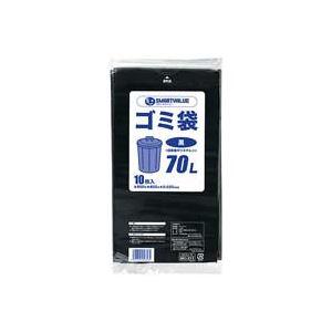 (業務用100セット) ジョインテックス ゴミ袋 LDD 黒 70L 10枚 N210J-70 ×100セット