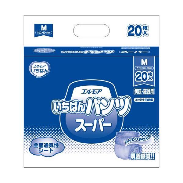 カミ商事 いちばんパンツスーパーM20枚×6P【送料無料】