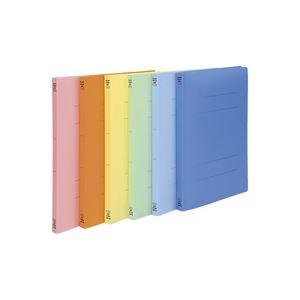 (業務用30セット) ビュートン PPフラットファイル バインダー 2穴 FF-A4S A4S 橙10冊 ×30セット