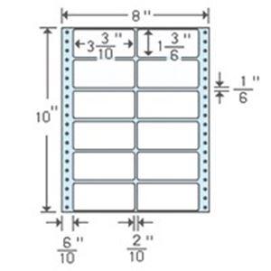 (業務用5セット) 東洋印刷 ナナフォームラベル MT8C 12面 500折 【×5セット】