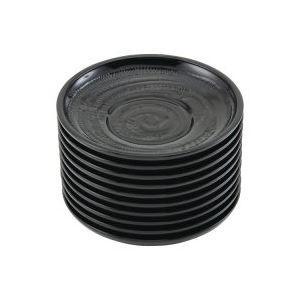 (業務用30セット) いちがま 木彫風茶托 10枚入 1005-1 ×30セット