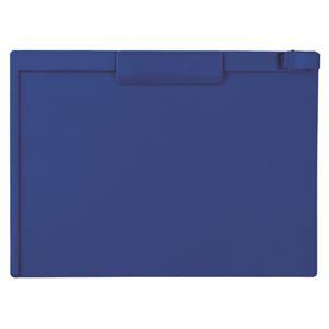 用箋挟 クリップボード まとめ セキセイ ×15セット 新作通販 ブランド品 A4ヨコ 1枚 SSS-3057P-15ネイビーブルー