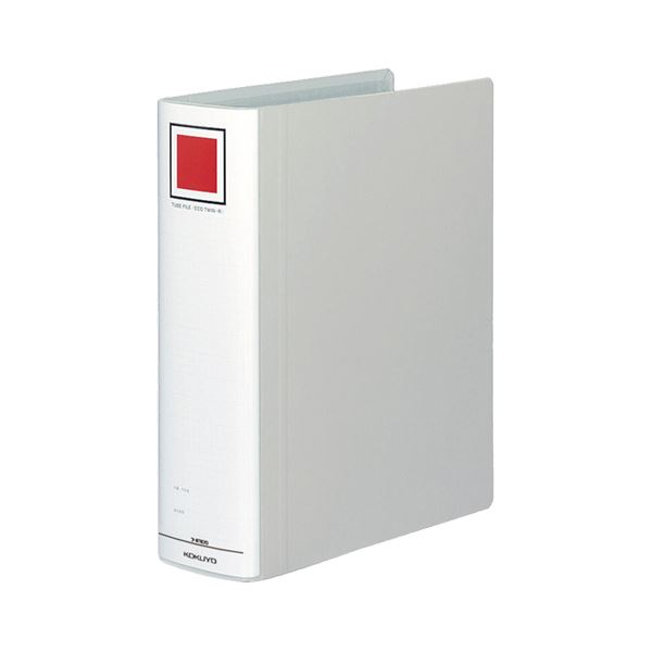 (まとめ) コクヨ チューブファイル(エコツインR) A4タテ 700枚収容 背幅85mm シルバー フ-RT670C 1冊 【×10セット】
