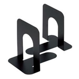 (業務用20セット) ジョインテックス ブックエンド M 黒 10個/5組 B167J-M-BK5 ×20セット