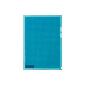 (業務用100セット) プラス カモフラージュホルダー FL-127CH-5P 薄青 5枚 ×100セット