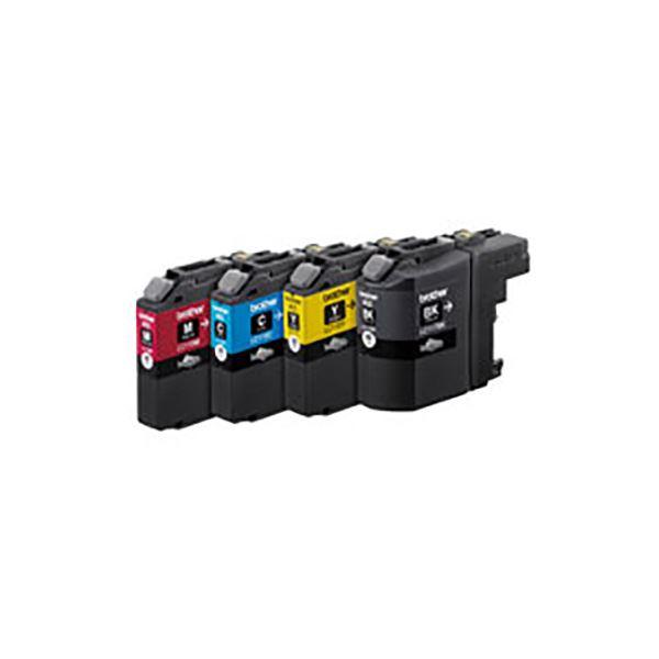 ブラザー インクトナーカートリッジ 4色カラー 純正品 BROTHER インクカートリッジ 115-4PK メーカー直送 4色 大容量 LC117 販売期間 限定のお得なタイムセール