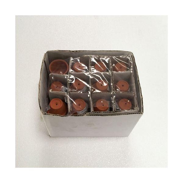 【96個入】イタリア製テラコッタ鉢(植木鉢/プランター) スタンダードポット φ3cm 〔ガーデニング用品/園芸〕【送料無料】