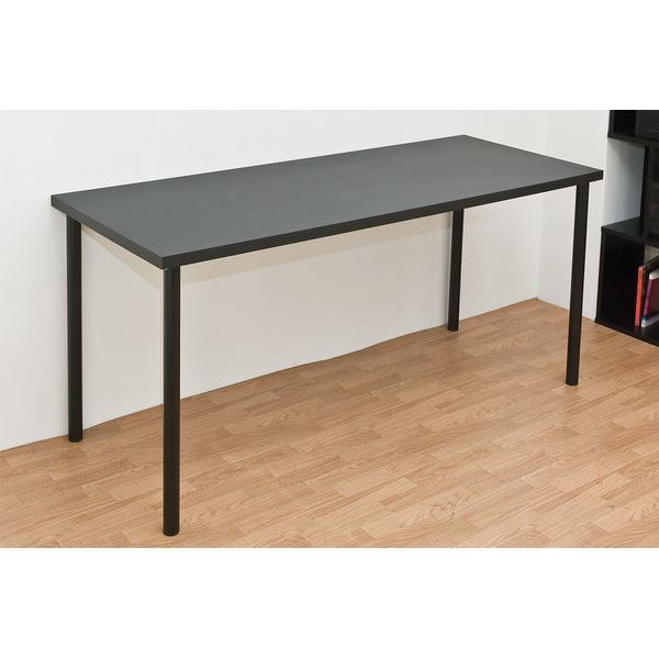 TY-1560BK(2.8)フリーテーブル 150幅 奥行き60 ブラック【代引不可】