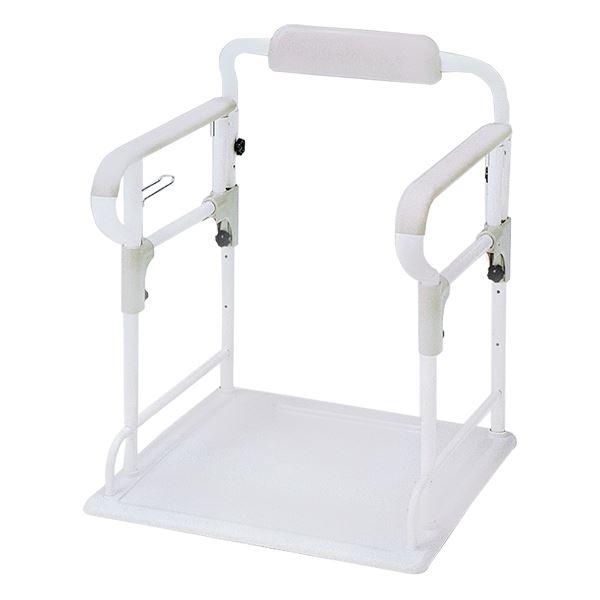 アロン化成 トイレ用手すり ポータブルトイレ用フレーム ささえ 533-070