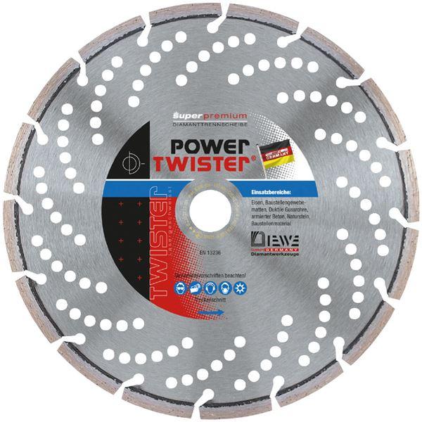 DIEWE(ディーベ) POWER-125 パワーツイスター 125MM ダイヤモンドカッター