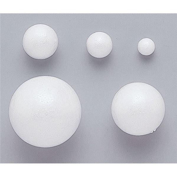 (まとめ)アーテック 発泡スチロール球 80φ(10個入) 【×5セット】