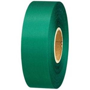(業務用10セット) ジョインテックス カラーリボン緑 24mm*25m 10個 B824J-GR10 ×10セット