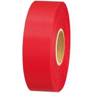 (業務用10セット) ジョインテックス カラーリボン赤 24mm*25m 10個 B824J-RD10 ×10セット